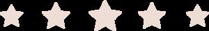 Testimonials & reviews stars image Move Forward Mentoring Bendigo coaching for men & boys